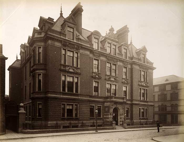 Liverpoor Homeopathic Hospital Hope Street